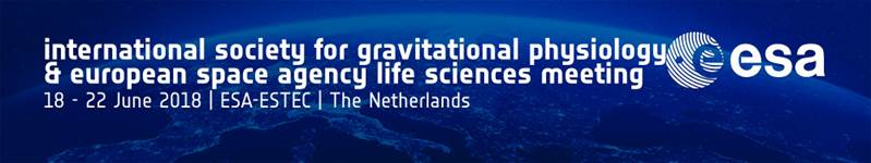 ISGP & ESA Life Sciences Meeting 2018